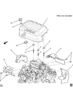 buick enclave (2wd) - 6-cylinder engine > epc online > webautocats.com  webautocats autoparts catalog